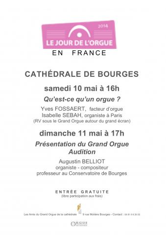 Jour de l orgue 2014 cathedrale de bourges